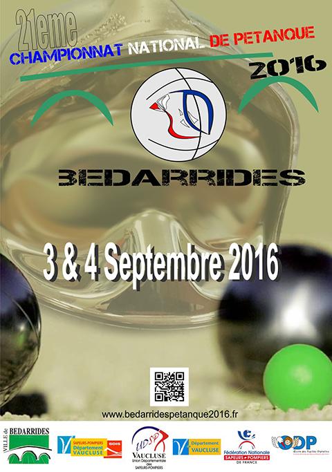 Championnat de pétanque 2016