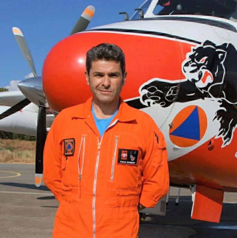 Portrait Franck Chesneau - Pilote Sécurité civile