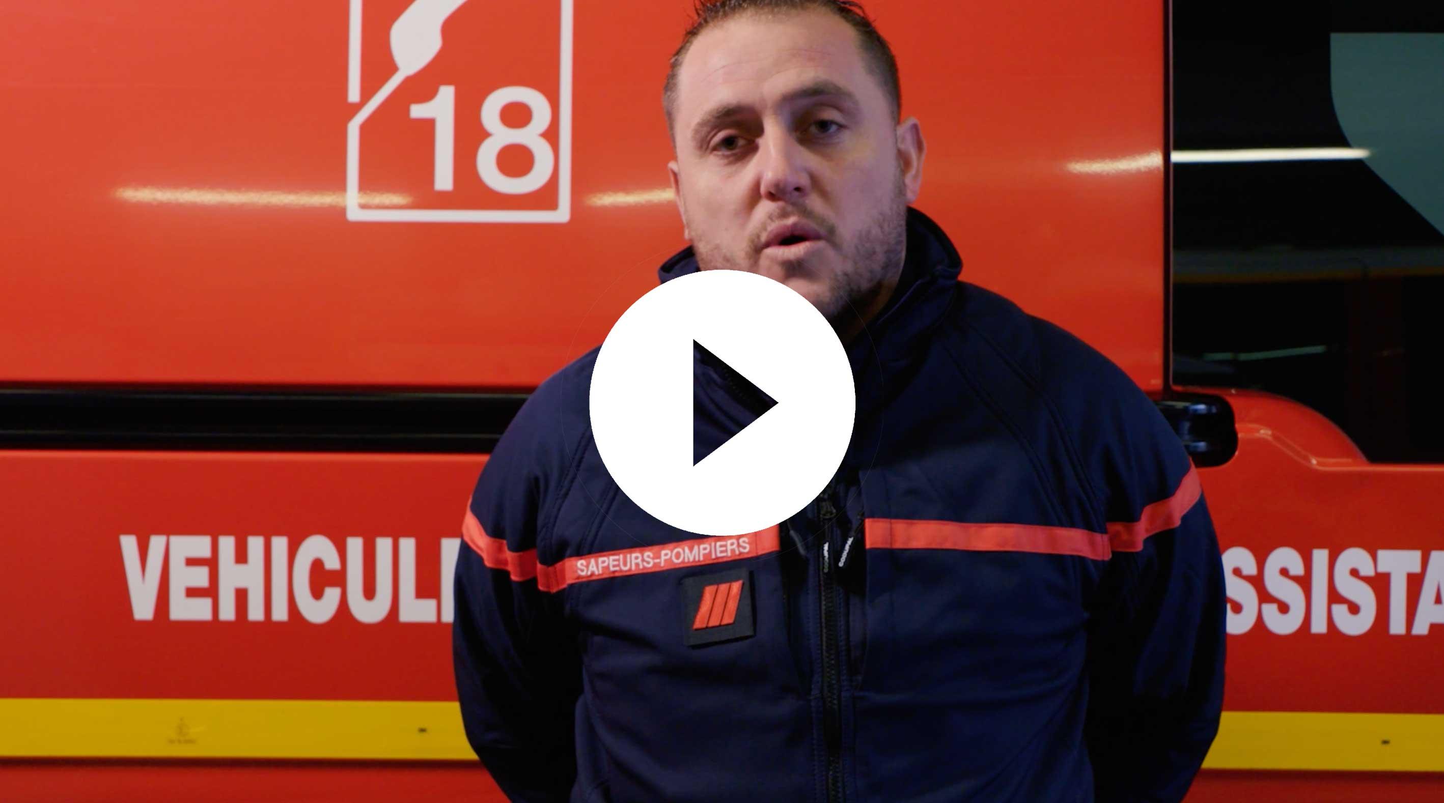 Paroles de pompiers - Gilles