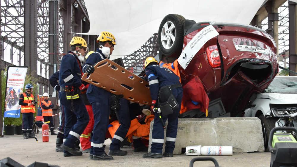 ILLUSTRATION - Renault partenaire des sapeurs-pompiers