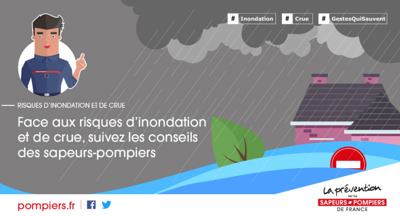 Visuel Prévention inondation / crue - SQV