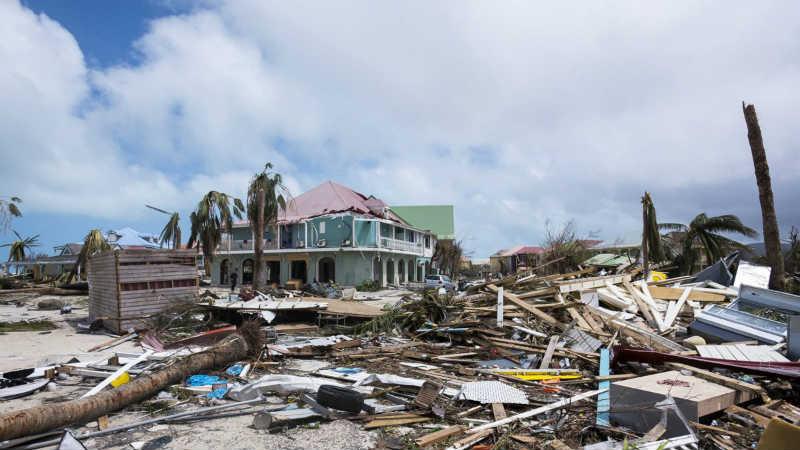 Illustration 01 - Dégats ouragan Irma - AFP-Lionel-Chamoiseau - 800x450px