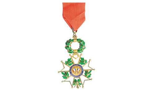 Sapeurs-pompiers de France - Légion d'honneur