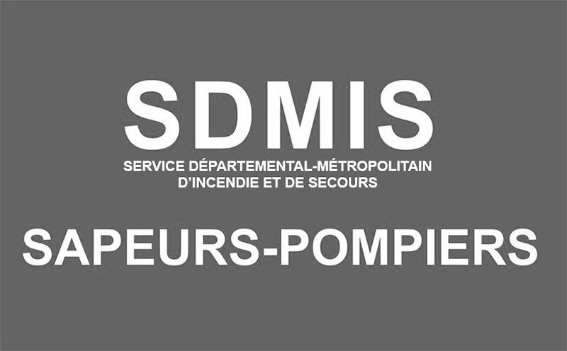 Logo SDMIS noir et blanc - Deuil