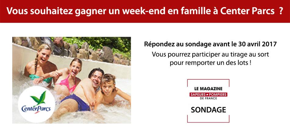 Sondage Magazine sapeurs-pompiers de France