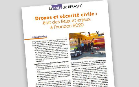 Drone et sécurité civile