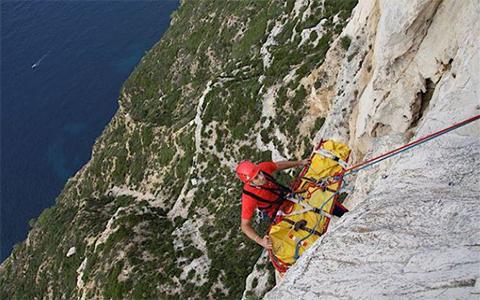 Un exercice de secours en grandeur nature dans le massif des Calanques