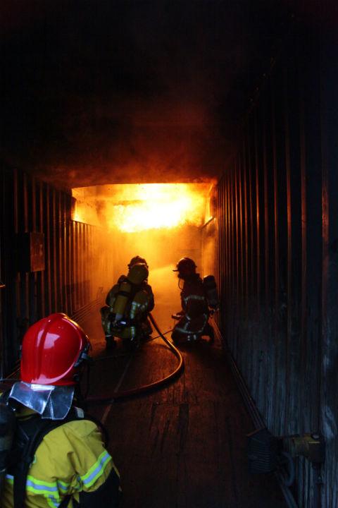 Pompiers formation Ensosp