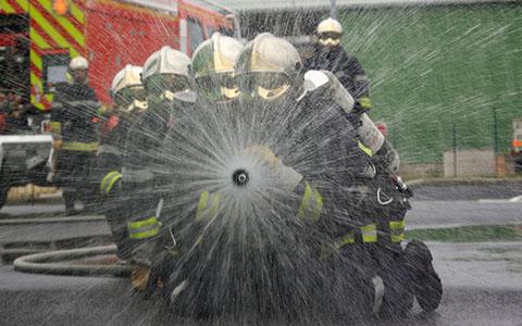 Pompiers lance
