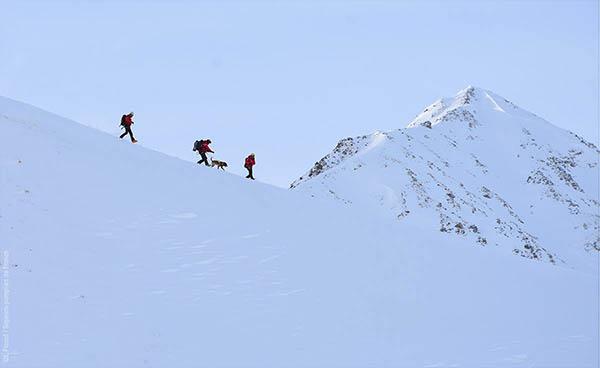 pompiers - exercice montagne