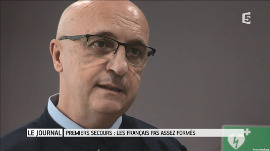 Screen interview Eric Faure - France 5