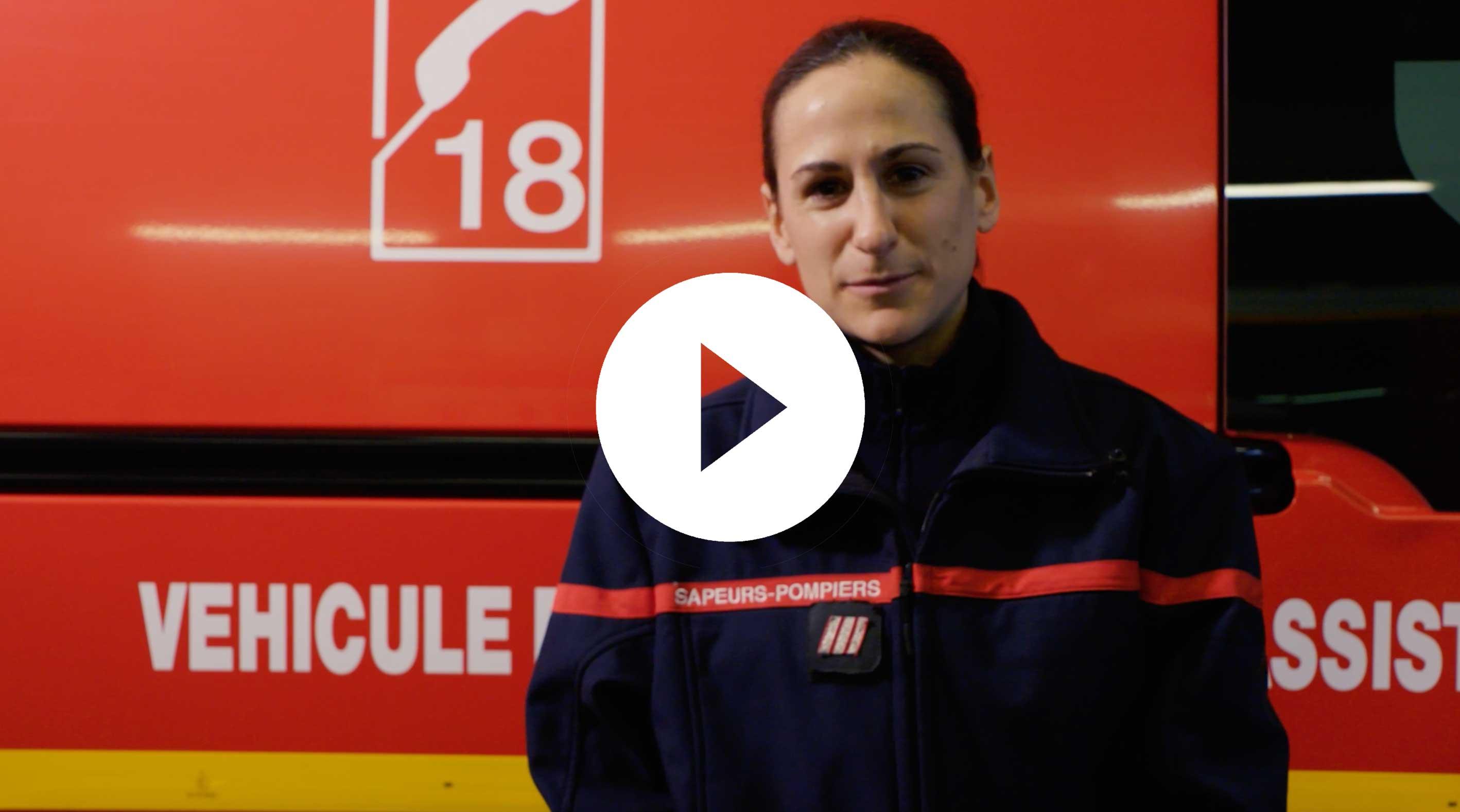 Paroles de pompiers - Stéphanie