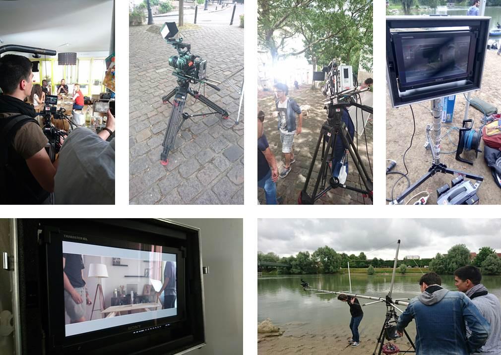 tournage tv