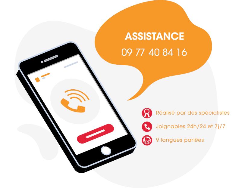 Assistance : 09 77 40 84 16