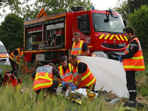 Véhicule de secours routier (VSR) – sapeurs-pompiers © Olivier Rigaud