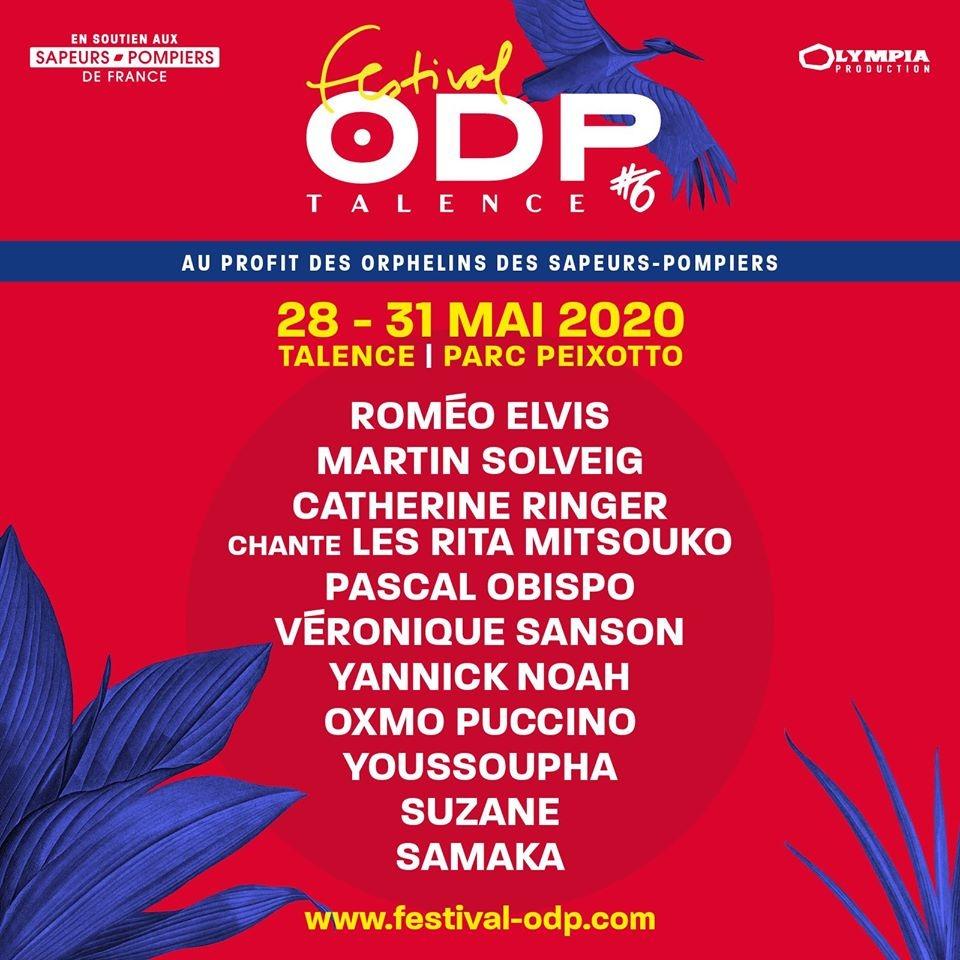 Programmation Festival ODP 2020