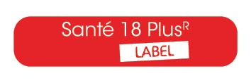 Santé 18 Plus R Label