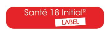 Santé 18 Initial R Label