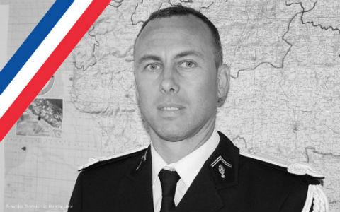 VIGNETTE - DECES LCL Gendarmerie Arnaud Beltrame