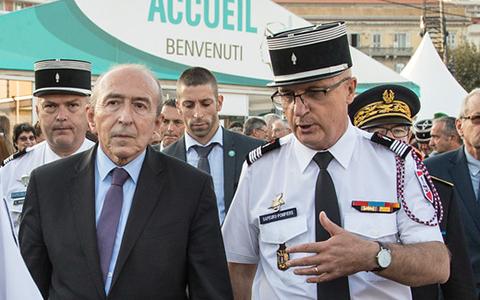 Eric Faure et Gérard Collomb
