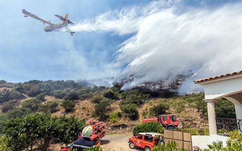 feux de forêts saison 2018 - pompiers