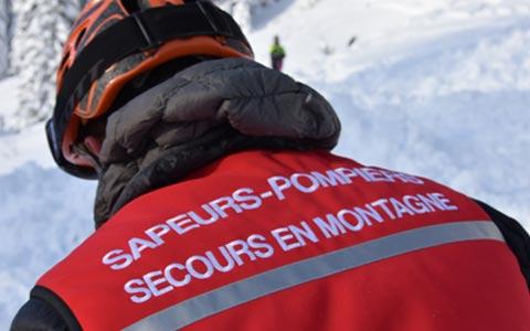 #VigilanceMontagne : des chutes de neige annoncées en montagne, les sapeurs-pompiers sensibilisent les skieurs
