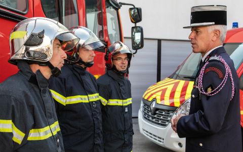 Allione pompiers