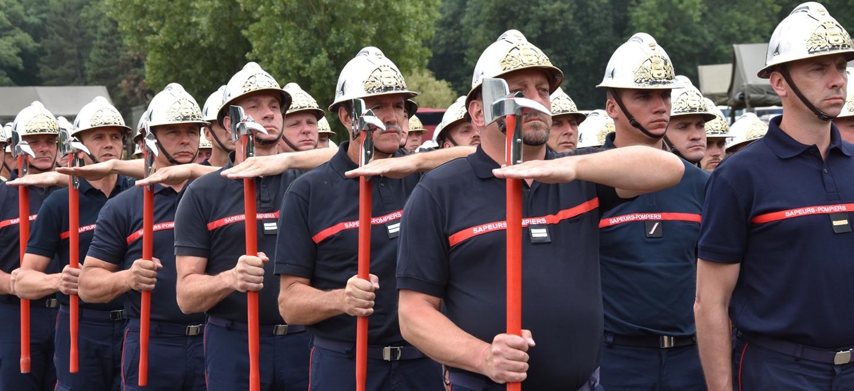 Les sapeurs-pompiers du 11e BSPF, de l'ENSOSP et de la BSPP se sont préparés toute la semaine pour défiler le 14 juillet à Paris