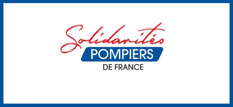 Bannière Solidarité pompiers de France