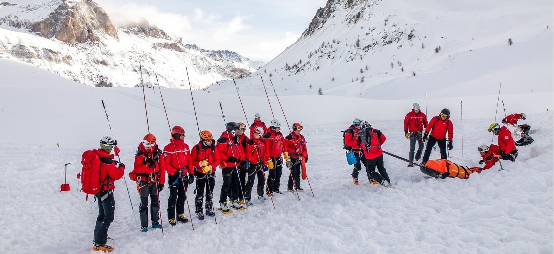 Secours en montagne : une expertise sapeurs-pompiers