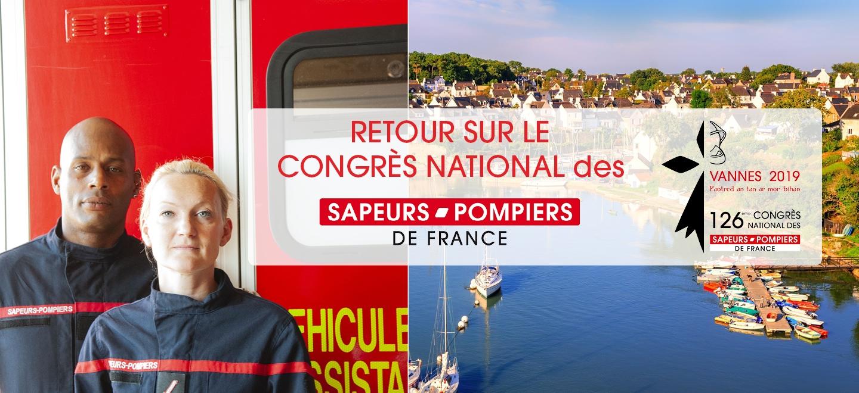 Retour sur le congrès national des sapeurs-pompiers de France