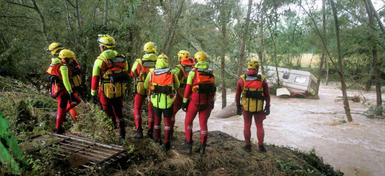 Intempéries dans le sud de la France : 200 personnes secourues par les sapeurs-pompiers