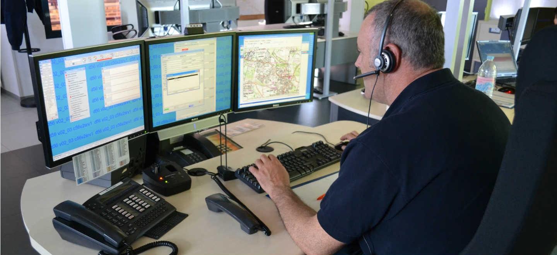 SLIDER - Traitement des appels d'urgence CTA Codis pompiers 18 / 112