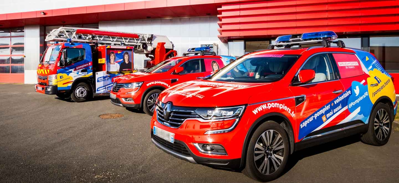 Retrouvez les sapeurs-pompiers sur le Tour de France 2019