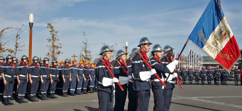 Slider Cérémonie pompiers de France