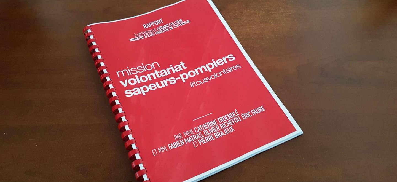 Rapport de la Mission volontariat de sapeurs-pompiers