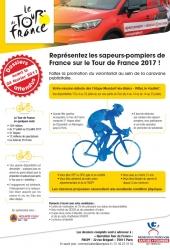 appel à candidatures Tour de France 2017