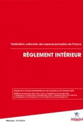 Règlement intérieur de la fédération