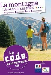 CODE de la montagne - Eté 2017 - Couverture