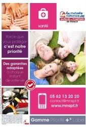 Plaquete gamme priorité + R label MNSPF