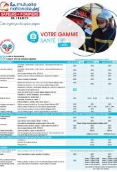 Plaquette Gamme Santé 18R Label