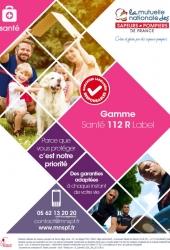 Plaquette Gamme Santé 112R Label