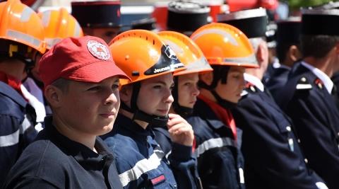 JNSP2017 - Jeunes sapeurs-pompiers (JSP) représentés