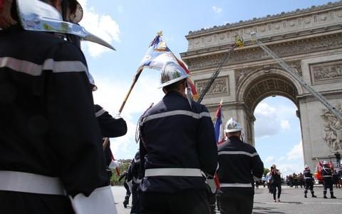 14 juillet : sapeurs-pompiers de France