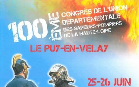 Congrès pompiers Haute-Loire