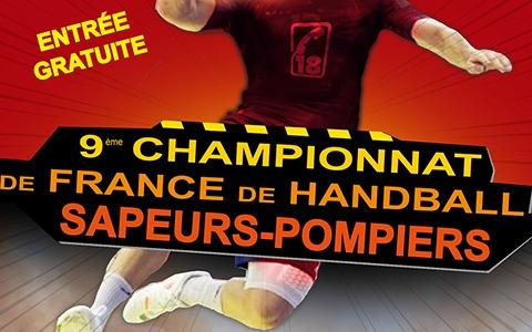 Handball : championnat de France de sapeurs-pompiers 2017