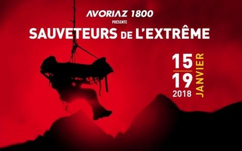 Les sauveteurs de l'extrême, 15-19 janvier 2018, Avoriaz