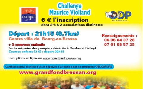 Challenge Maurice Violland - Bourg-en-Bresse