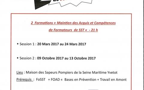 MAC Formateurs Sauveteur Secouriste du Travail