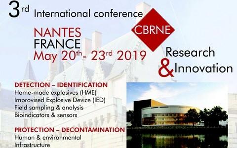 3e conférence internationale NRBCE Recherche et innovation